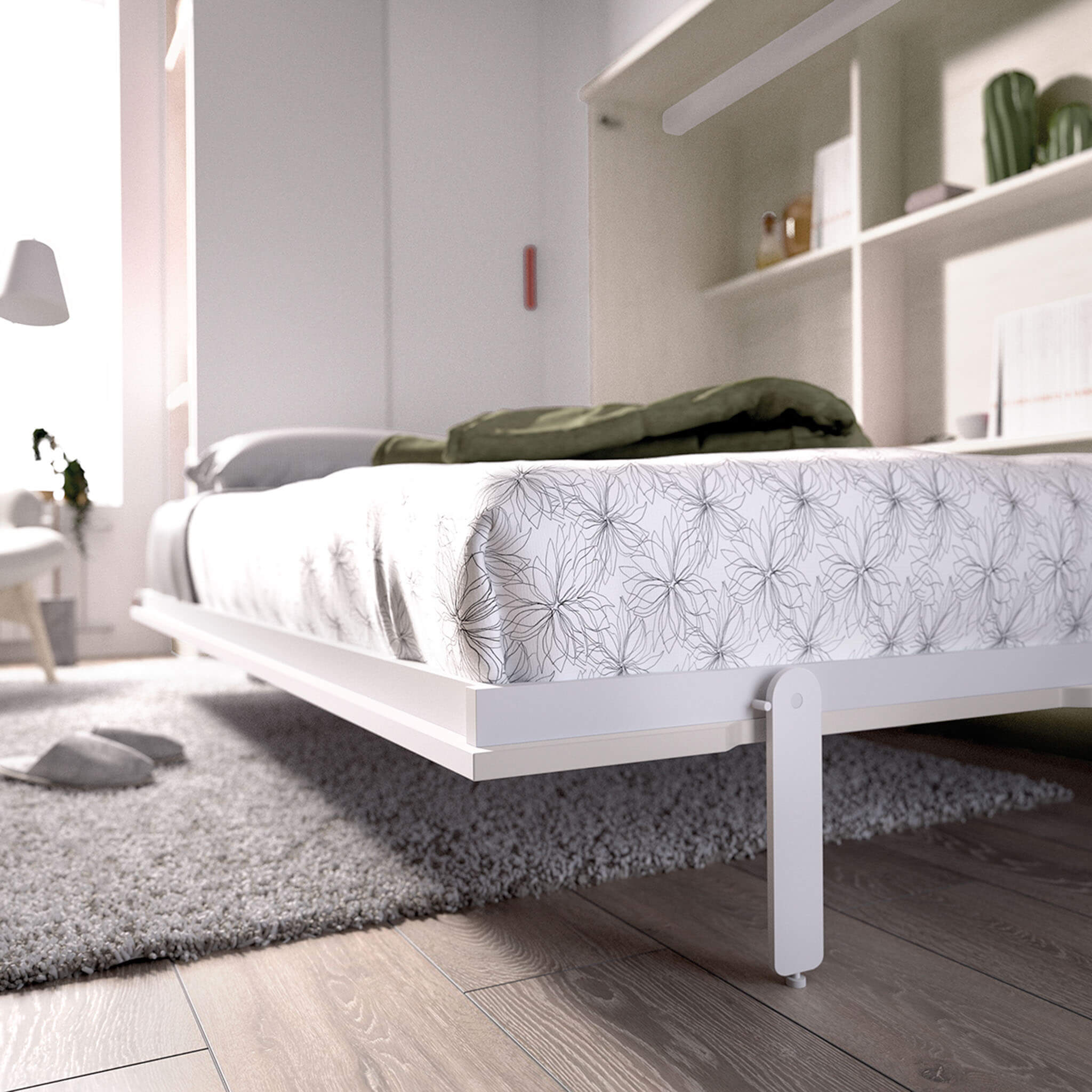Double wall bed Horizontal